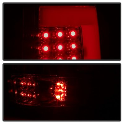 Ford F150 2004-2008 Tinted Tube LED Tail Lights