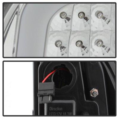 Toyota Tacoma 2005-2015 Clear LED Tail Lights