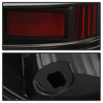 Dodge Ram 2013-2018 Black Neon LED Tail Lights