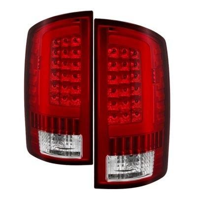 Dodge Ram 2002-2006 LED Tail Lights Neon Tube