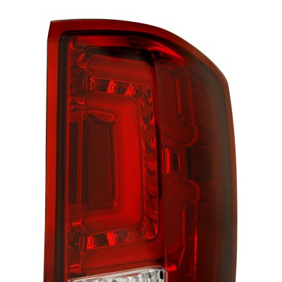 Chevy Silverado 2500HD 2015-2018 Custom LED Tail Lights