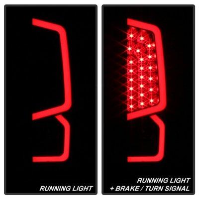 Toyota Tundra 2014-2020 Black Smoked LED Tail Lights