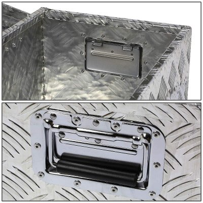 GMC Sierra 1999-2006 Aluminum Truck Tool Box 39 Inches Key Lock
