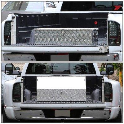 Dodge Ram 2500 2003-2009 Aluminum Truck Tool Box 39 Inches Key Lock