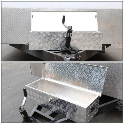 Ford F250 Super Duty 2017-2018 Aluminum Truck Tool Box 39 Inches Key Lock