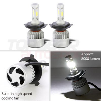 Jeep Wrangler 1997-2006 Blue SMD Halo LED Headlights Kit