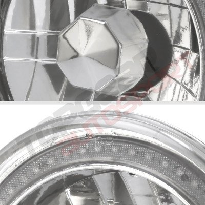 Buick Skylark 1975-1979 Red SMD Halo LED Headlights Kit