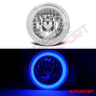 Porsche 924 1977-1988 Blue Halo Tube LED Headlights Kit