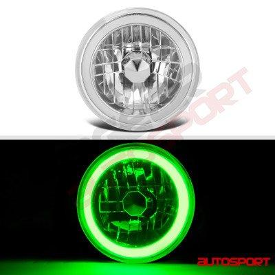 Dodge Dart 1972-1976 Green Halo Tube LED Headlights Kit