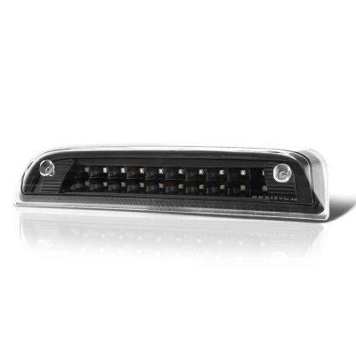 Chevy Silverado 2014-2018 Black Full LED Third Brake Light Cargo Light