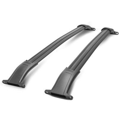 Chevy Suburban 2015-2020 Black Aluminum Roof Rack Crossbars