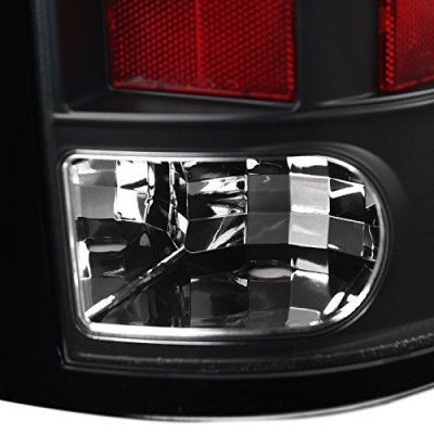 Dodge Ram 2009-2018 Black LED Tail Lights