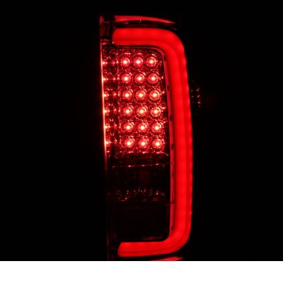 GMC Sierra 2014-2018 Clear LED Tail Lights