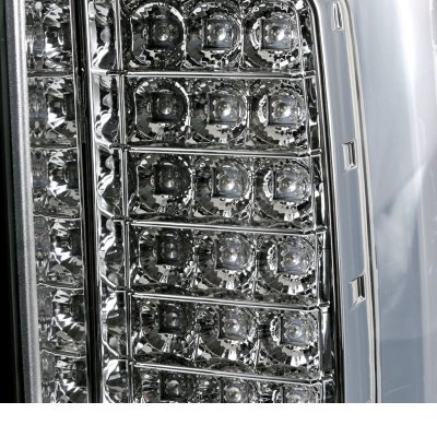 GMC Sierra 3500HD 2015-2018 Clear LED Tail Lights