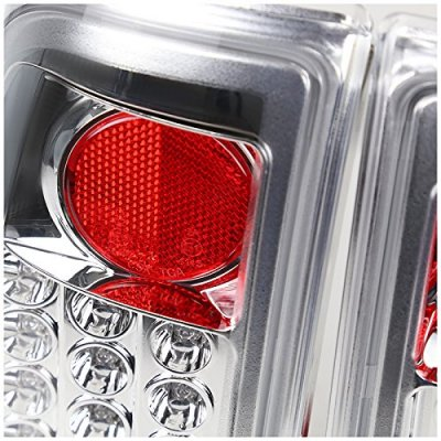 Ford F250 Super Duty 2008-2010 Clear LED Tail Lights