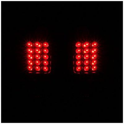 Ford F250 Super Duty 2008-2010 Black LED Tail Lights