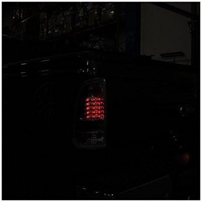 Ford F250 Super Duty 2011-2016 Black LED Tail Lights