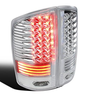 Dodge Ram 2500 2003-2006 Clear LED Tail Lights