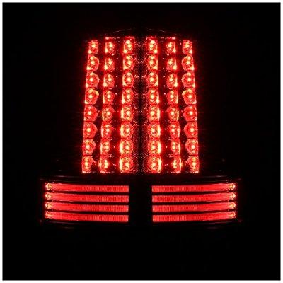 Dodge Ram 2500 2003-2006 Smoked LED Tail Lights