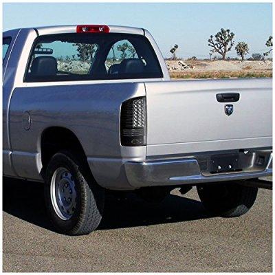 Dodge Ram 3500 2003-2006 Black LED Tail Lights