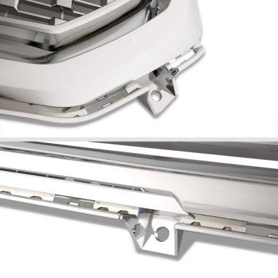 GMC Sierra 1500 2016-2018 Chrome Front Grille