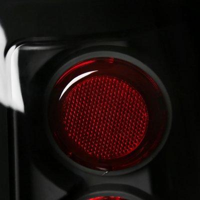 Chevy Silverado 3500 2001-2003 Black Altezza Tail Lights