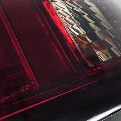 Cadillac CTS 2003-2007 Tinted Tube LED Tail Lights