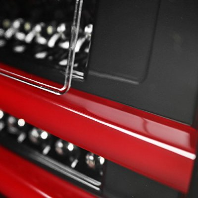 Lexus IS250 2006-2008 Black LED Tail Lights Red Tube