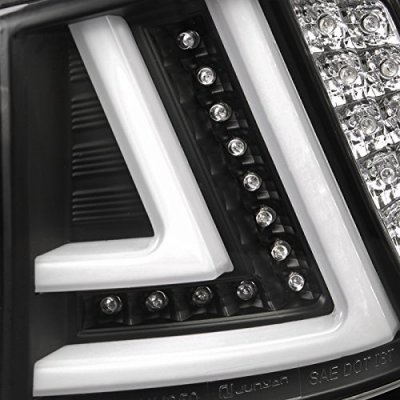 Lexus IS250 2006-2008 Black LED Tail Lights