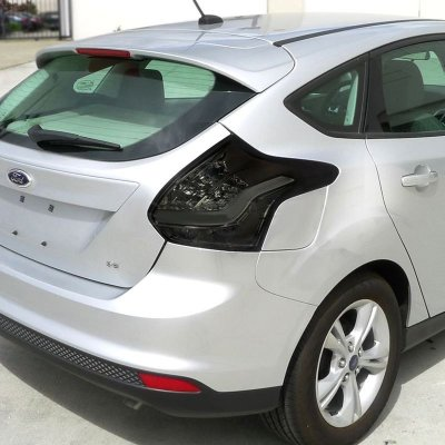 Ford Focus Hatchback 2017 Smoked Led Tail Lights