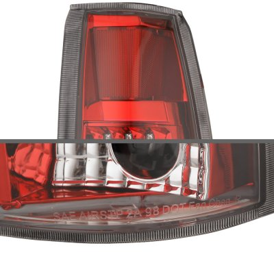 Chevy Blazer 1992-1994 Red LED Tail Lights