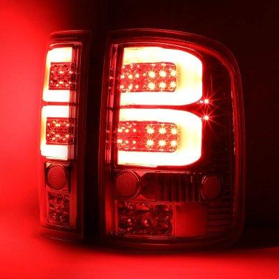 Ford F150 2004-2008 Smoked Custom Tube LED Tail Lights
