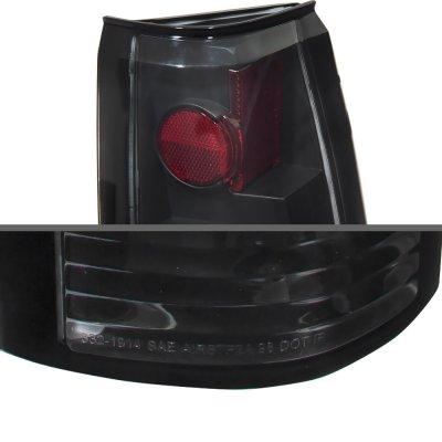Chevy 2500 Pickup 1988-1998 LED Tail Lights Black
