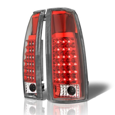 Chevy Suburban 1992-1999 Red LED Tail Lights