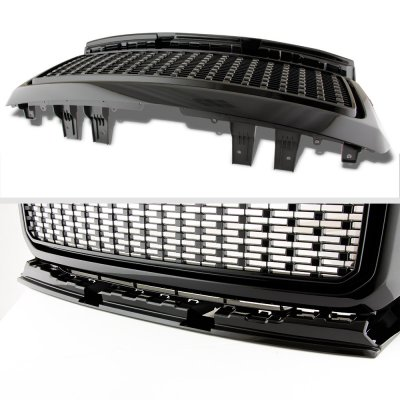 GMC Canyon 2015-2019 Black Custom Grille