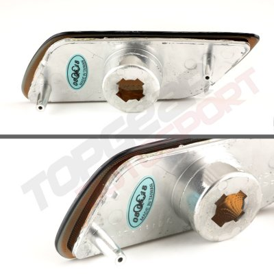 Ford Focus 2000-2005 Amber Smoked Front Bumper Lights