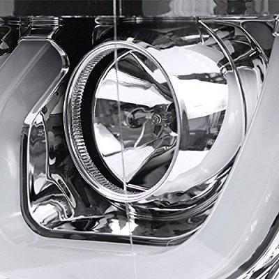 Chevy Silverado 2014-2015 DRL Projector Headlights LED Signal