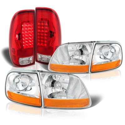 Ford F150 1997-2003 Harley Headlights LED Tail Lights
