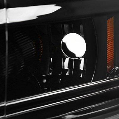 Dodge Ram 2009-2018 Glossy Black Halo Projector Headlights