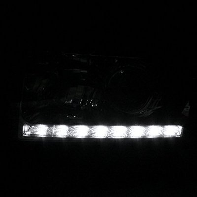 Dodge Ram 2500 1994-2002 Retrofit Projector Headlights LED DRL