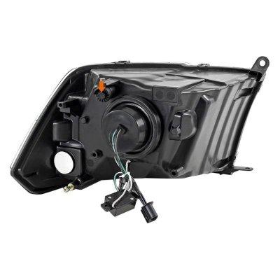 Dodge Ram 2009-2018 Black Retrofit Projector Headlights
