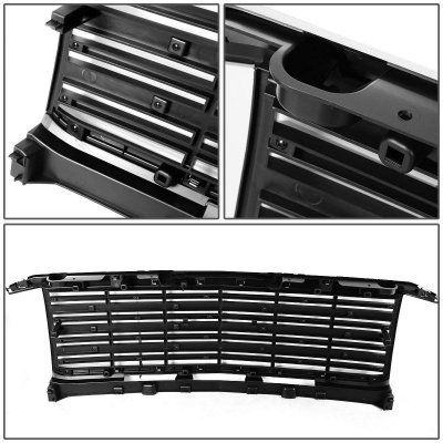 Chevy Silverado 1500 2014-2015 Chrome Front Grille