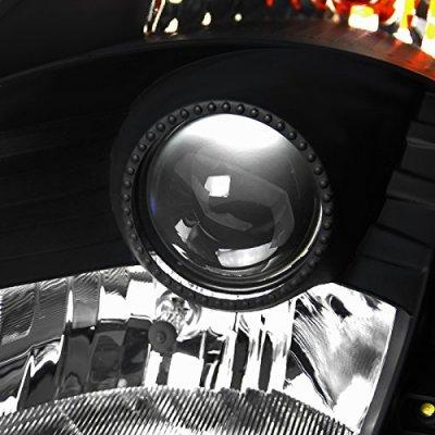 Nissan 350Z 2003-2005 Black Projector Headlights HID