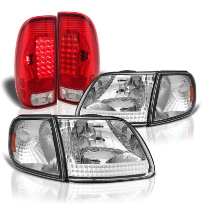 Ford F150 1997-2003 Headlights and LED Tail Lights