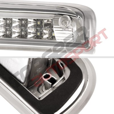 Chevy Silverado 2014-2018 Clear Full LED Third Brake Light Cargo Light