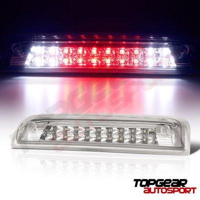 Chevy Silverado 2014-2018 Clear Full LED Third Brake Light Cargo Light