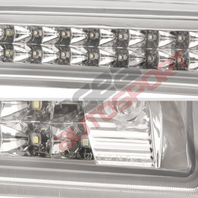 Chevy Silverado 2500HD 2015-2017 Clear Full LED Third Brake Light Cargo Light