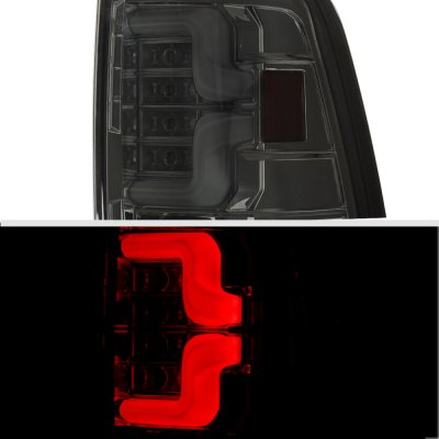 Dodge Ram 2009-2018 Smoked Custom LED Tail Lights