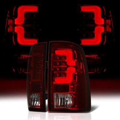 Dodge Ram 2009-2018 Tinted Custom LED Tail Lights