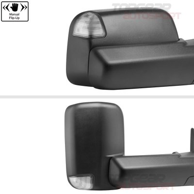 Dodge Ram 1500 2009-2018 Power Heated Towing Mirrors Temp Sensor Clear Signal
